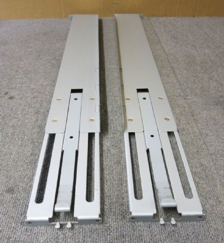 "Gerenic Universal Adjustable Rack Mount Server Rails 29"" Data Cabinet"